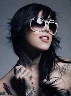 Tattoo Artist Ms. Katherine Von Drachenberg aka Kat Von D ...XoXo