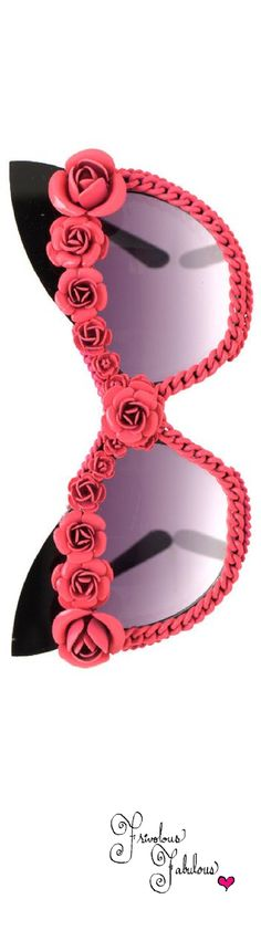 Frivolous Fabulous - A Morir Sweet Pink Rose Eye Wear