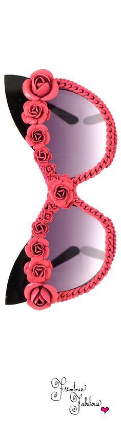 Frivolous Fabulous - A Morir Sweet Pink Rose Eye Wear
