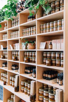 Shop Interior Design, Retail Design, Store Design, Mini Spa, Candle Store, Soap Shop, Farm Shop, Store Displays, Shop Interiors