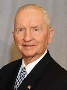 Ross Perot-- we joked about him back then in '92, but everything he warned us about has come true--brilliant man.