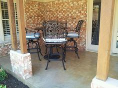 Hanamint St. Augustine Outdoor Barstool Collection