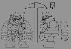 Dwarf by andretapol.deviantart.com on @deviantART