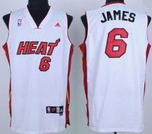 miami heat 6 james white mesh swingman jersey wholesale cheap
