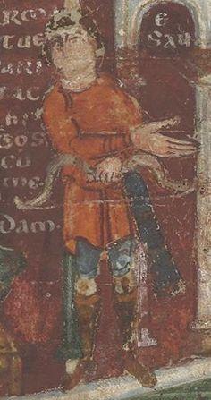 Detail of Esau, 6th or 7th Century, Ashburnham Pentateuch