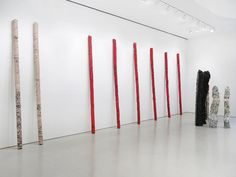 Sculptures by Helmut Lang at Sperone Westwater, New York
