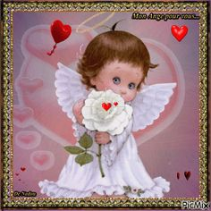 un ange pour vous - PicMix Angel Images, Angel Pictures, Baby Engel, My Guardian Angel, Angel Crafts, Magic Eyes, Angels Among Us, Precious Children, Angel Art