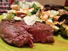 How to cook steak in the oven...I swear it works perfectly everytime #steak #cooking #steakrecipes
