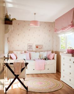 Small nursery design
