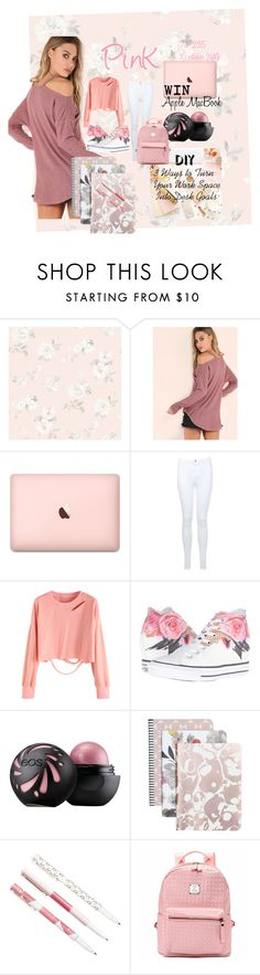 """PinK"" by imandz ❤ liked on Polyvore featuring Captiva, Miss Selfridge, Converse, Caroline Gardner and Thrive"