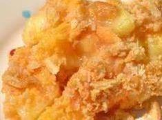 Pineapple Cheese Casserole Recipe