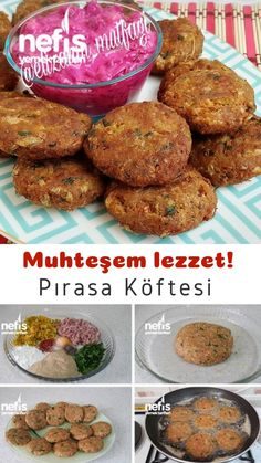 Turkish Recipes, Ethnic Recipes, 4 Ingredients, Soup And Salad, Food To Make, Peanut Butter, Muffin, Food And Drink, Appetizers