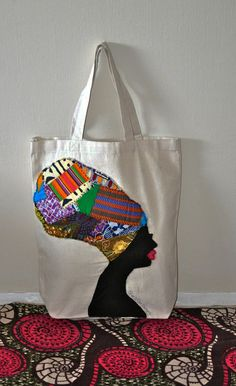 Kemetic Goddess Tote Bag by QuellyRueDesigns on Etsy, $36.00    Really want this!!