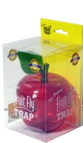 """#Stuffer 6: Original Fruit Fly Trap, by Mosquito Shield. It may seem a long way off right now, but this device will prove helpful in the heat of next summer. Insert a slice of fruit, vinegar or other attractant to the apple, and it becomes a veritable """"Hotel California"""" for those annoying bugs. For kids, I suggest an old fashioned fly swatter. Kids love them, and they're known as an effective deterrent against both closet and under-the-bed monsters."""