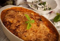 Hungarian Cuisine, Hungarian Recipes, Hungarian Food, Meat Recipes, Paleo Recipes, Baking Recipes, Paleo Food, Healthy Food, Lasagna