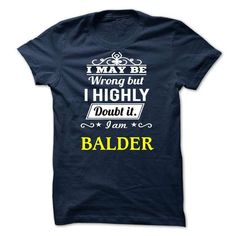 awesome BALDER t shirt, Its a BALDER Thing You Wouldnt understand