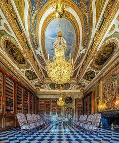 Bibliothèque du Château de Vaux-le-Vicomte Vaux Le Vicomte, Special Pictures, Tower, Building, Instagram, Wanderlust, France, Luxury, Rook