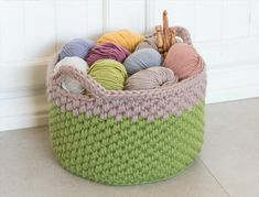 diy basket, Crocheting flowers for new DIY spring projects