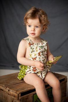Vintage inspired sun suit/romper. Love!