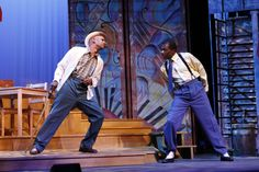 Geoffrey D. Williams and Gilbert Glenn Brown in our production of Spunk by George C. Wolfe for the 2013-2014 season at Kenny Leon's True Colors Theatre Company.