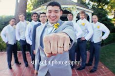 Cool Groom & Groomsmen Photo