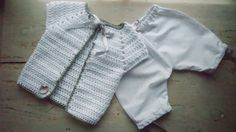 Silver lining: newborn Christmas outfit
