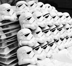 Star Wars - Behind the scenes  It looks like a Dia de Los muertos sugar skull display.  #Repin By:Pinterest++ for iPad#