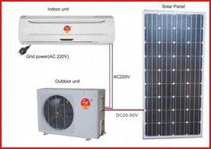 Solar Panel Cost, Solar Energy Panels, Solar Panels For Home, Best Solar Panels, High Efficiency Air Conditioner, Solar Air Conditioner, Solar Panel Technology, Architecture 3d, Solar Roof Tiles