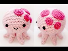 30 Inspired Picture of Crochet Emoji Amigurumi - topiccraft Octopus Crochet Pattern, Easy Crochet Patterns, Crochet Patterns Amigurumi, Crochet Dolls, Free Crochet, Knit Crochet, Loom Knit, Crochet Things, Crochet Snowman