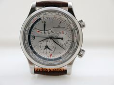 Jaeger LeCoultre Master World Geographic - http://kronopassion.com/product/jaeger-lecoultre-master-world-geographic-ref-1528420/