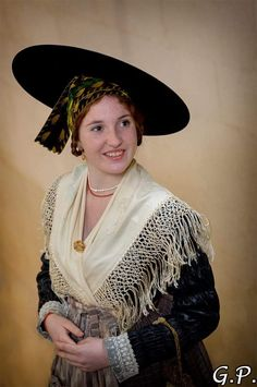 French Costume, French People, Traditional Outfits, Sari, France, Culture, Costumes, Nice, Clothing