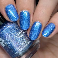 Nail Polish Society>> KBShimmer Hella Holo Customs August 2017 Exclusives