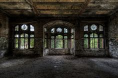 Beelitz Military Hospital in Berlin, Germany.(photo by Ole Begemann)  Beelitz Military Hospital - also known as Beelitz-Heilstätten - is a very large hospital complex consisting of about 60 buildings. It was built in the 19th century and operated as a sanatorium. At the beginning of World War I the complex became a military hospital for the Germany army until 1945 when it was occupied by Soviet forces. It remained occupied by the Soviets up until in 1995.