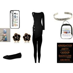 """Divergent"" by keyladeal on Polyvore"