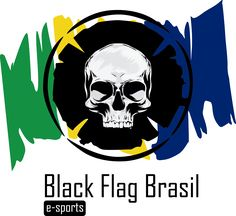 Logo Black Flag brasil - Streamer de jogos