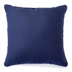 Duckcloth Pillow - Navy, 25 in. $9.99