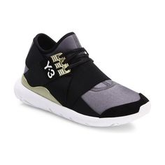 qasa elle sneakers by Y-3. Technical neoprene sneaker with elasticized panels. Textile and leather upper. Reinforced round toe. Pull-on style wi...