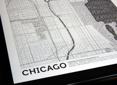 maps made entirely of type.