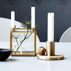 Square Brass Candle Stand by all things Brighton beautiful, the perfect gift for Explore more unique gifts in our curated marketplace. Great Wedding Presents, Unique Wedding Gifts, Brass Candle Holders, Candle Stand, Scandinavian Christmas Decorations, Scandinavian Interior, Holiday Decorations, Blush Bedroom, Pink Lamp