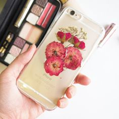 The Rose and Pink Peony Phone Case/Real flower iPhone case/Pressed flower iPhone case/exclusive/iPhone 6 plus/iPhone 6/iPhone 5/iPhone 5S