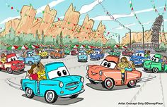 Cars Land Getting An All-New Ride In 2016!