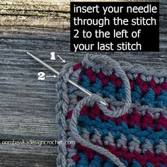 If you want a nicely finished edge - or to make less obvious joins when working in rounds and changing colours - this is the joining technique you will want to try. Invisible Join Technique Step 1:...
