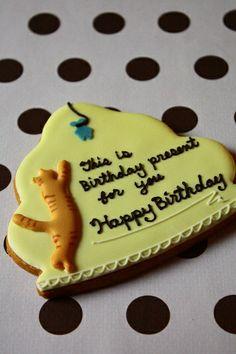 Birthday present for cat