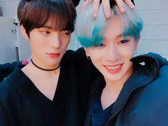 Minhyuk and wonho monsta x @arillys