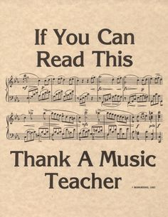 Thank your music teacher if you understand the language!      #teacher #music #quote #musicteacher #inspire