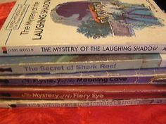Alfred-Hitchcock-Three-Investigators-Lot-Of-5-VTG-Paperbacks-Acceptable