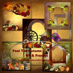 Great collection of frames. Just re-published in the Fall category