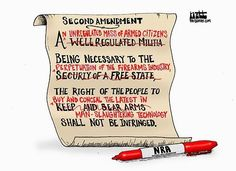 The 2nd Amendment according to the NRA
