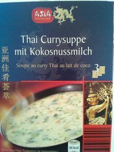 Zuppa tailandese con curry e latte di cocco