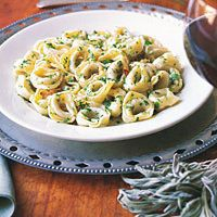 Tortellini with Garlic Butter Sauce by Sheli